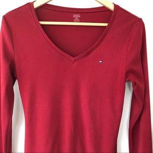 Tommy Hilfiger 💯 cotton v-neck T-shirt